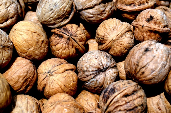 Walnuts in a healthy low-carb diet