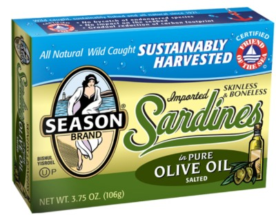 Sardines: low-carb, high-fat lunch in a tin