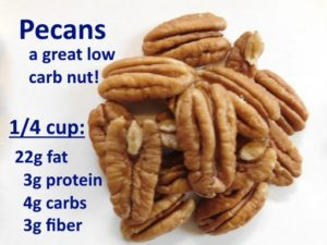 Great foods for a low-carb diet (part 6): pecans